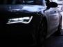 Сварка выхлопной системы Audi A7 TFSI от катализатора.