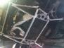 Алюминиевая распорка переднего подрамника Impreza GFC type RHHCC