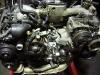 Новый масляный насос 11мм  Subaru 15010AA360 установлен на двигатель.