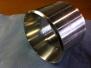 Переходник на evo9 турбину. Внешний диаметр проставки 76мм.