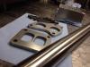 Фланцы и материалы, все из нержавеющей стали, подготовленные для изготовления аппайпа